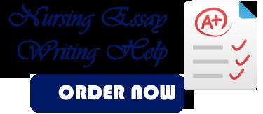 nursing essay writing help
